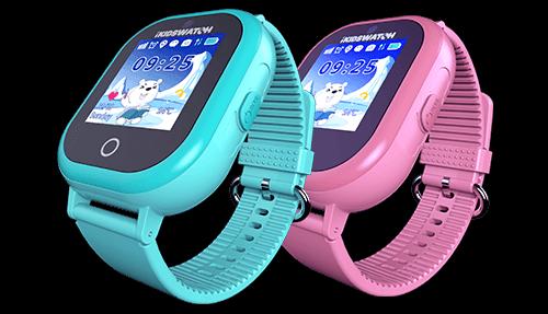 pametni sat za djecu plavi i roza